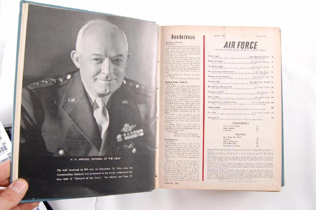 2 Volumes of The Offical Jourals of the U.S. Airforce - 3