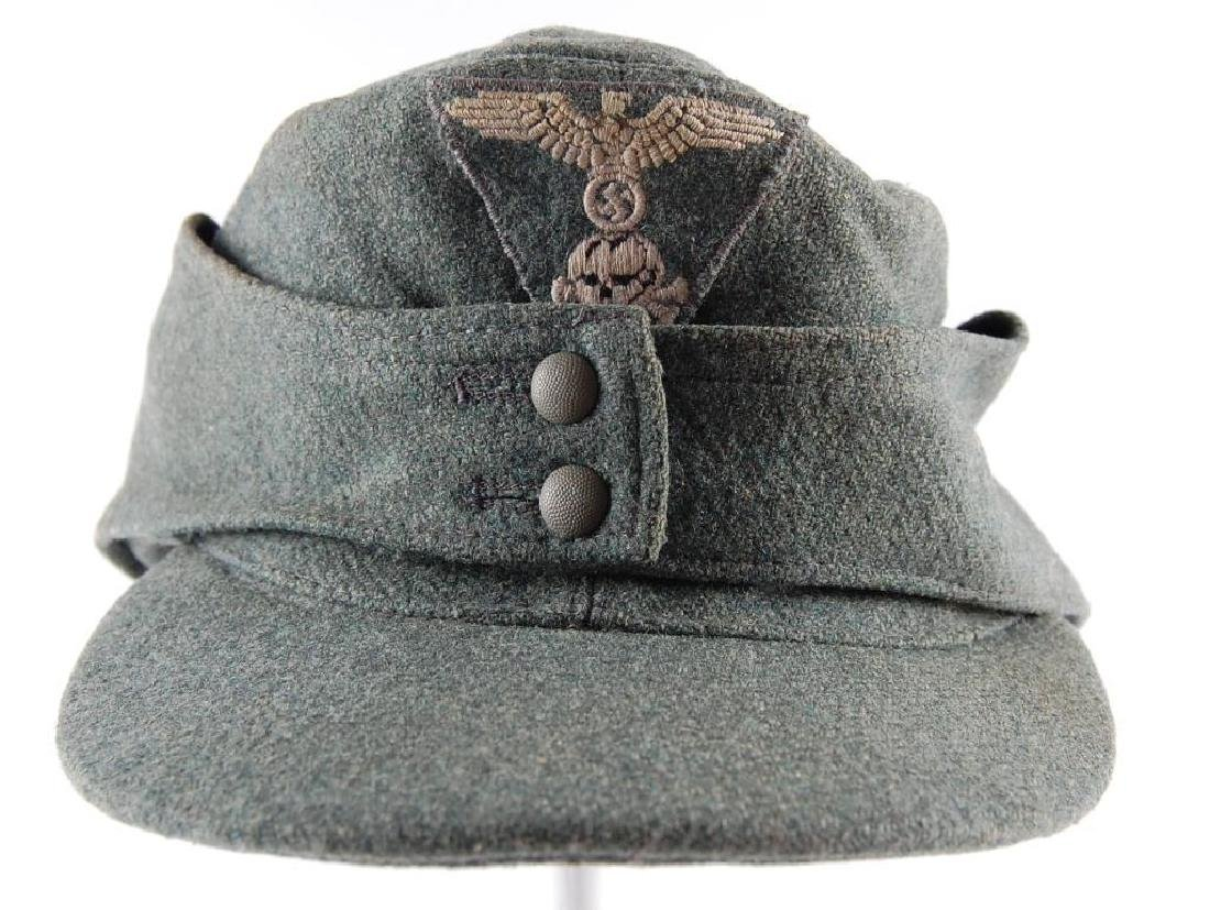 WW2 German M-43 Elisted Mans SS Cap
