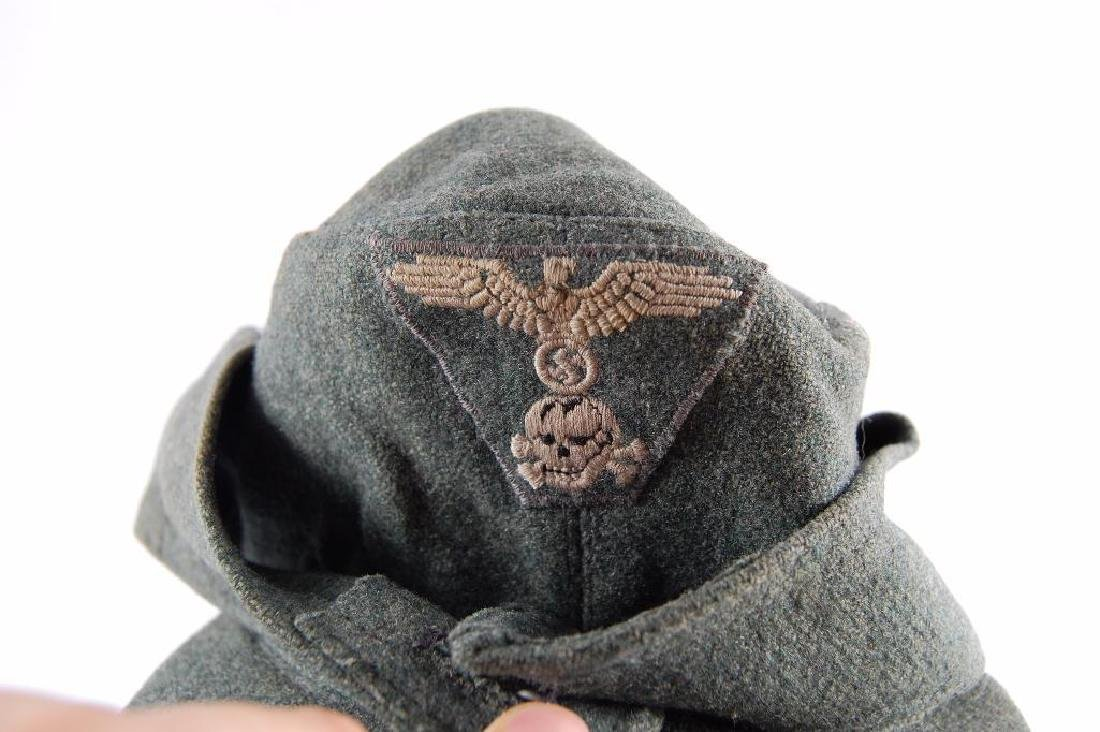 WW2 German M-43 Elisted Mans SS Cap - 2