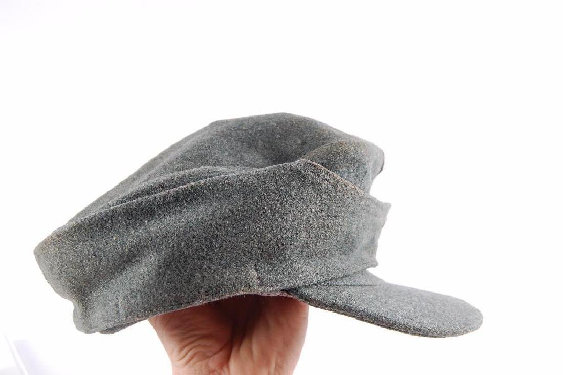WW2 German M-43 Elisted Mans SS Cap - 5