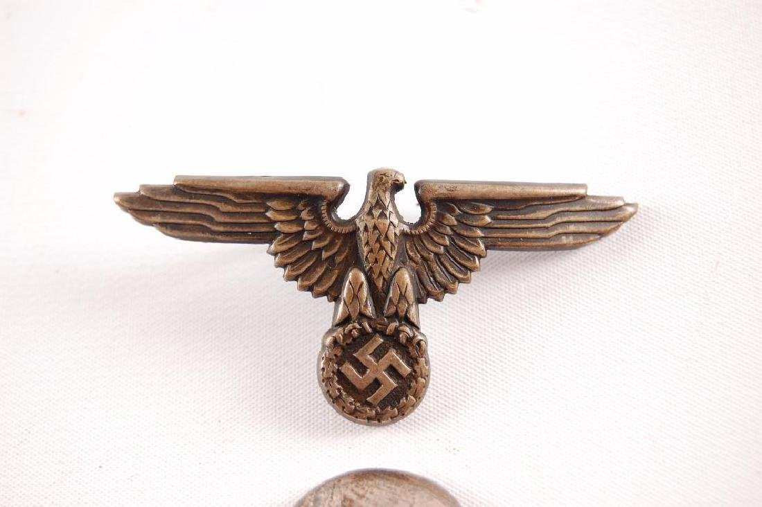 Set of WW2 German SS Visor Cap Badges - 3