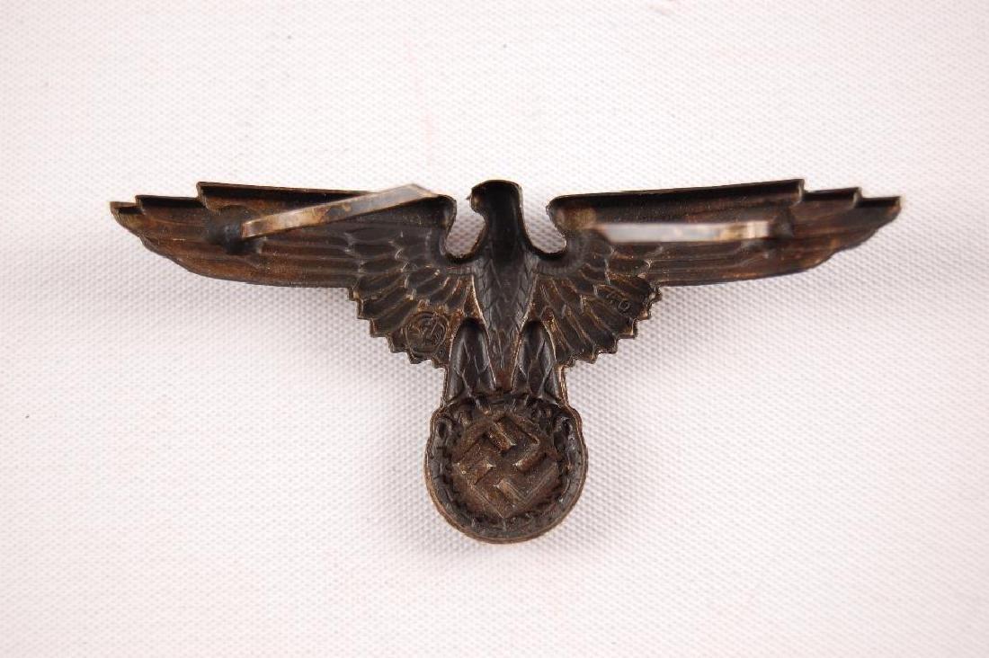Set of WW2 German SS Visor Cap Badges - 4