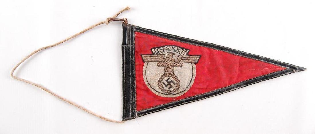 WW2 German NSKK Pennant