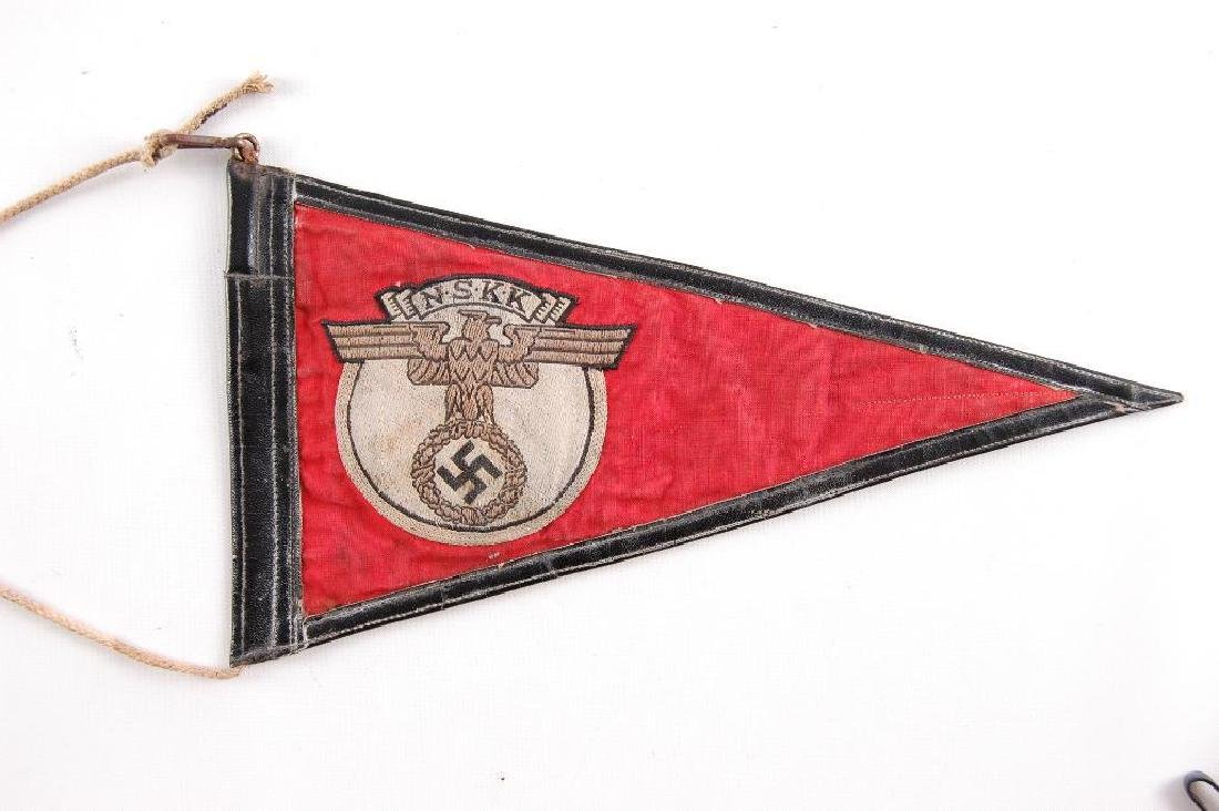 WW2 German NSKK Pennant - 2