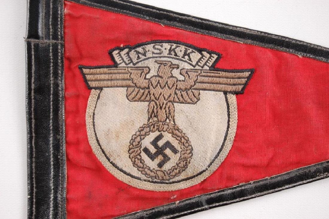 WW2 German NSKK Pennant - 3