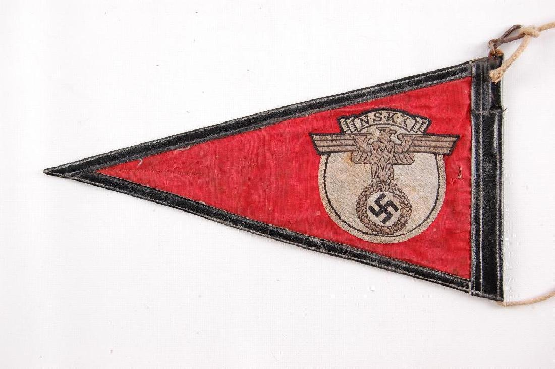 WW2 German NSKK Pennant - 4