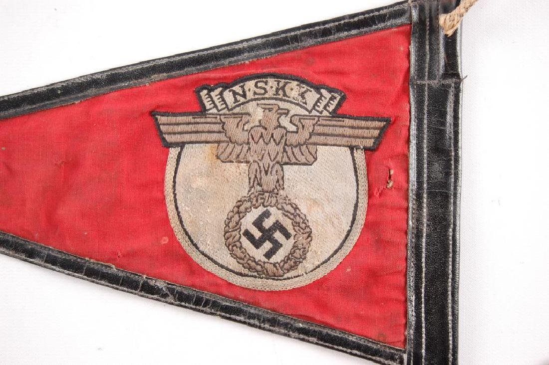 WW2 German NSKK Pennant - 5