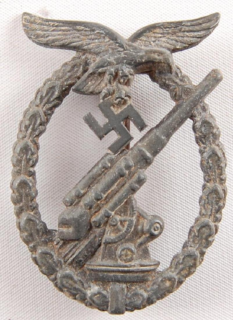 WW2 German Luftwaffe Flak Badge