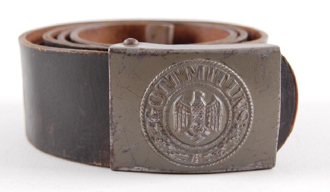 WW2 German Kriegsmarine Other Ranks Steel Belt and