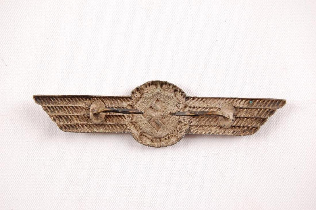 WW2 German Luftwaffe Civil Fire Brigade Cap Badge - 2