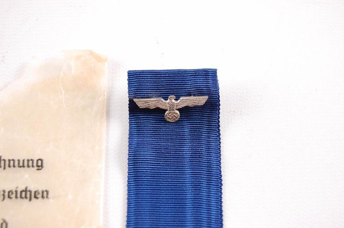 WW2 German Ribbon and Eagle with Original Wax Bag - 2