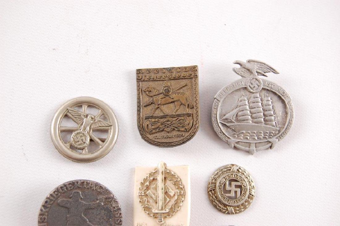 Group of 8 WW2 German Tinnies - 2