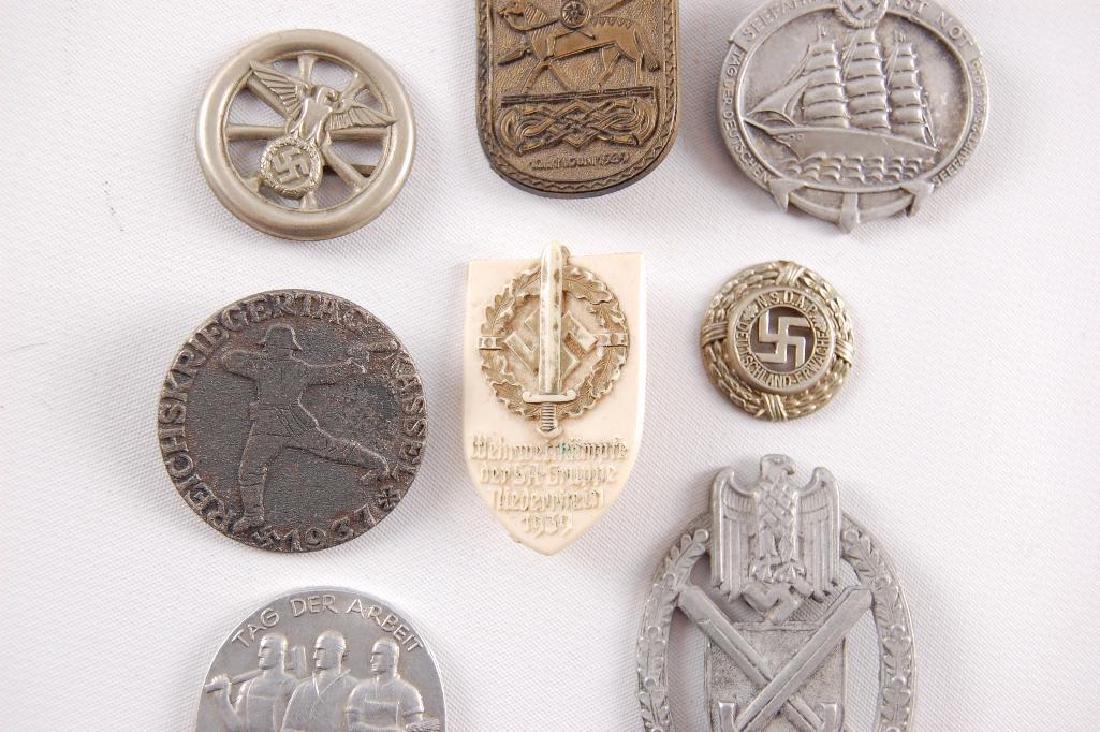 Group of 8 WW2 German Tinnies - 3