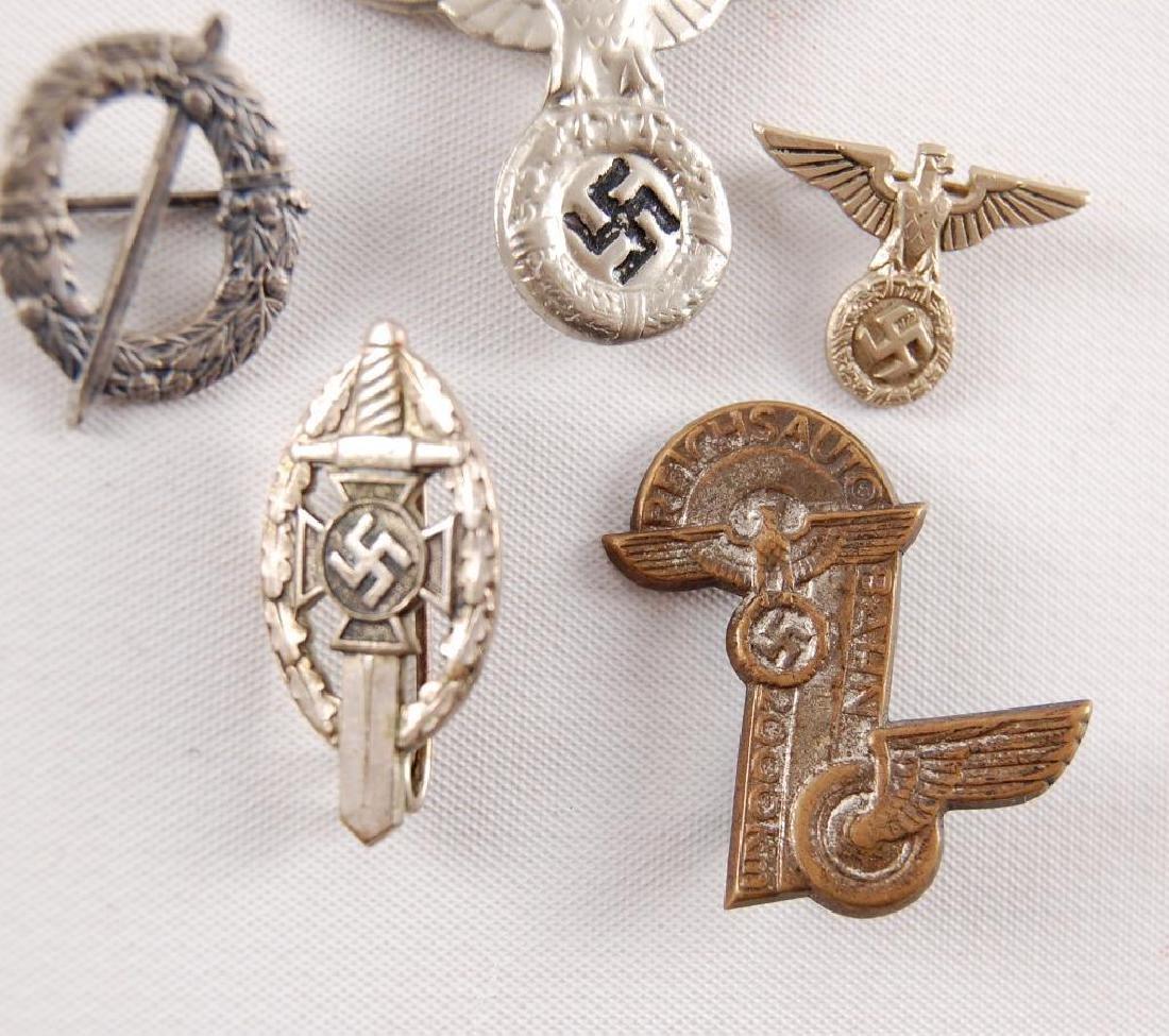 Group of 5 WW2 German Pins - 2