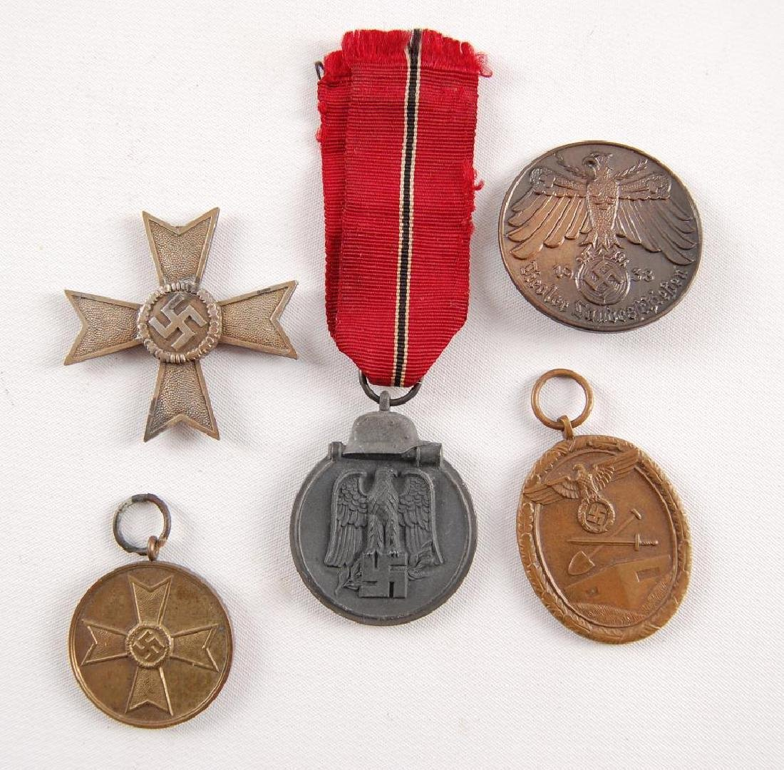 Group of 5 WW2 German Medals