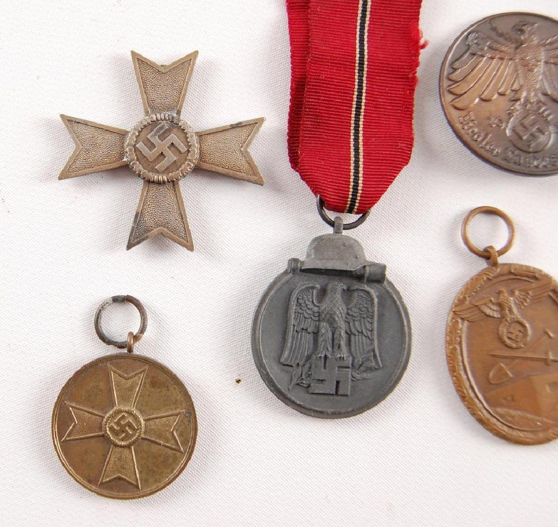 Group of 5 WW2 German Medals - 2