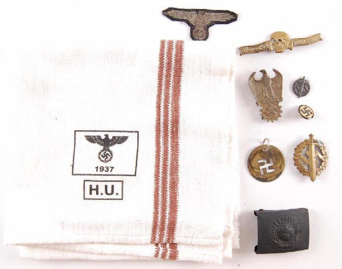Group of Reproduction German Style Items