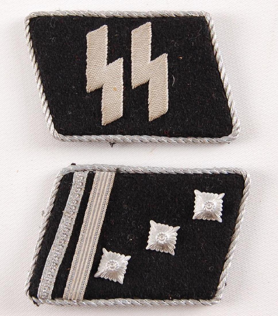 German Style SS Collar Tabs