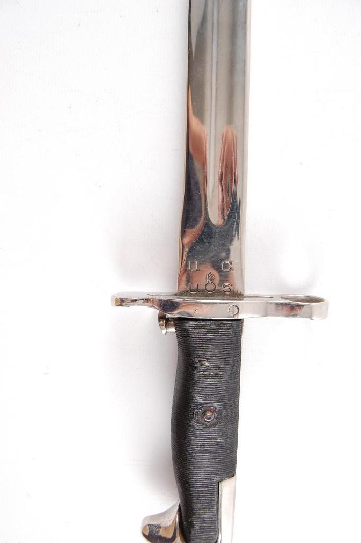 U.S. Army Nickel Plated Bayonet - 3