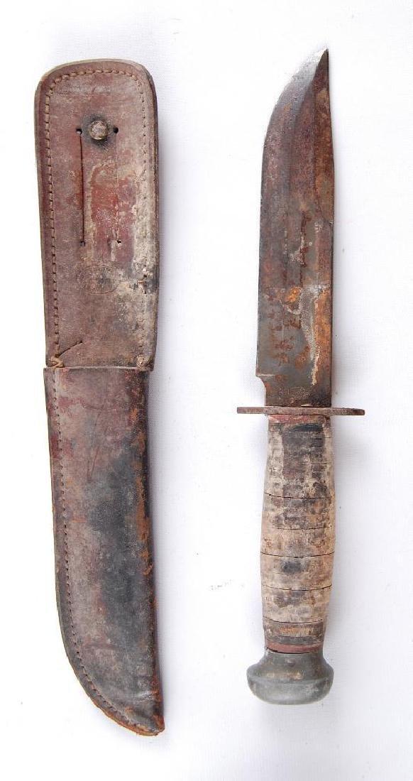 WW2 U.S. Army Pal RH36 Fighting Knife with Sheath - 3