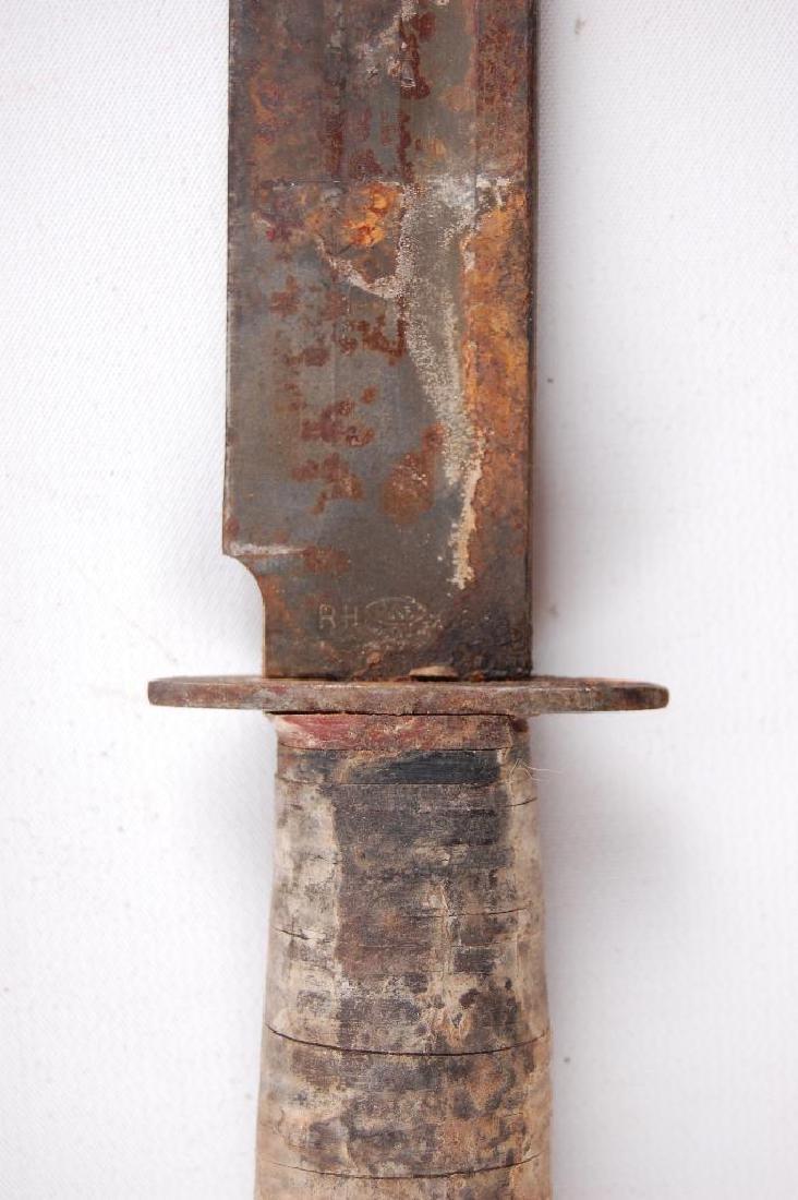 WW2 U.S. Army Pal RH36 Fighting Knife with Sheath - 4