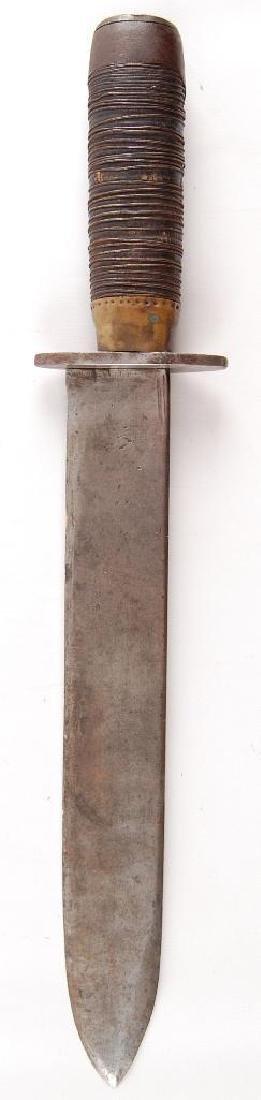 Massive Hand Made Civil War Era Bowie Knife