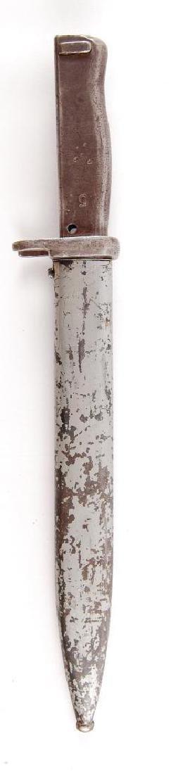 WW1 German Mauser Ersatze Bayonet with Metal Grip and
