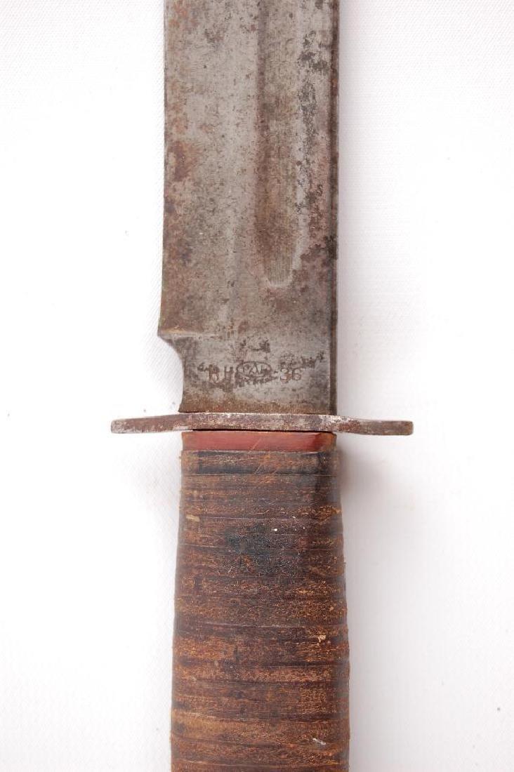 WW2 U.S. Army Pal RH36 Fighting Knife - 2