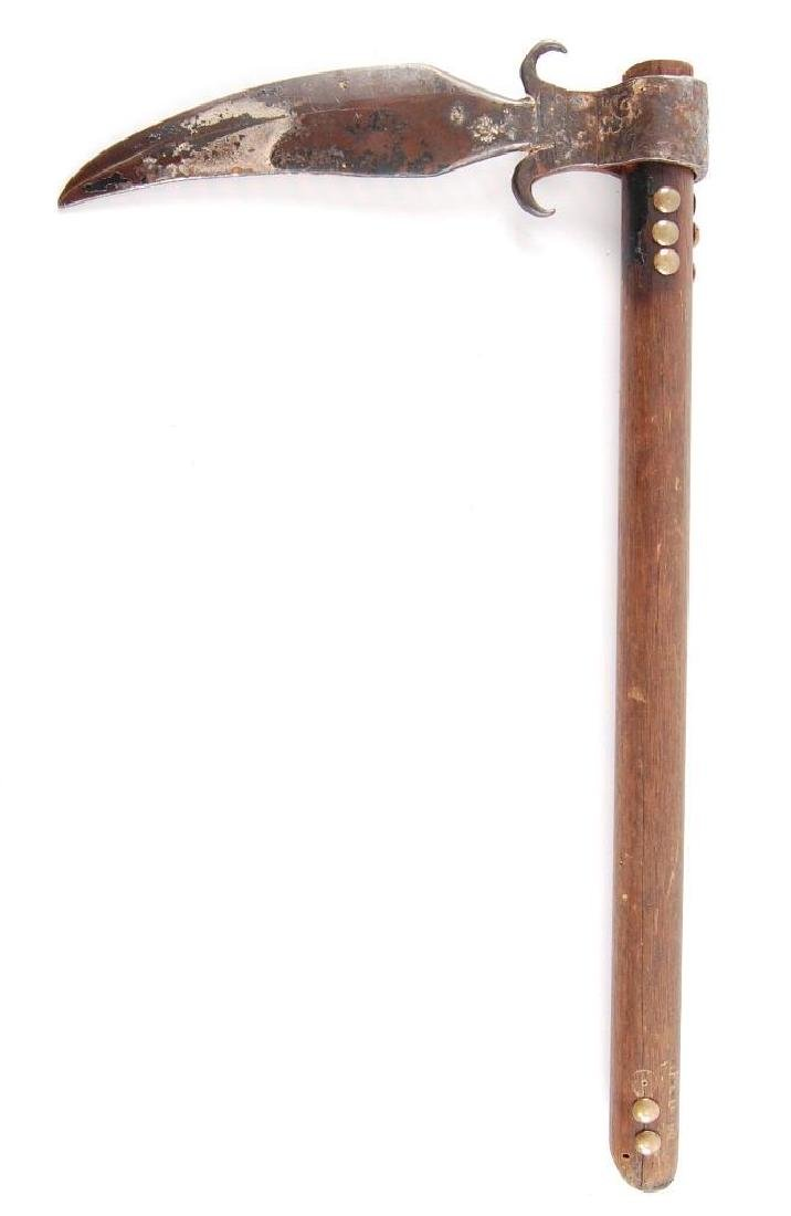 Handmade Tomahawk/Trade Ax with Metal Head