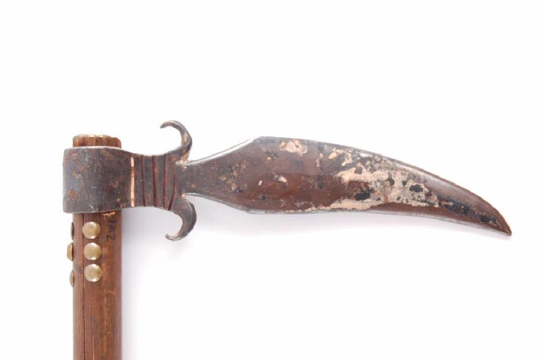 Handmade Tomahawk/Trade Ax with Metal Head - 5