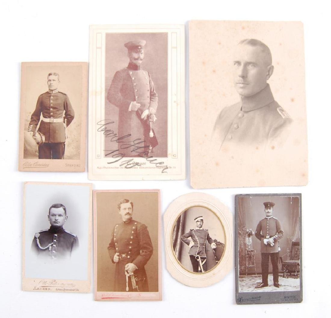 Group of 7 WW1 German Solider Photographes