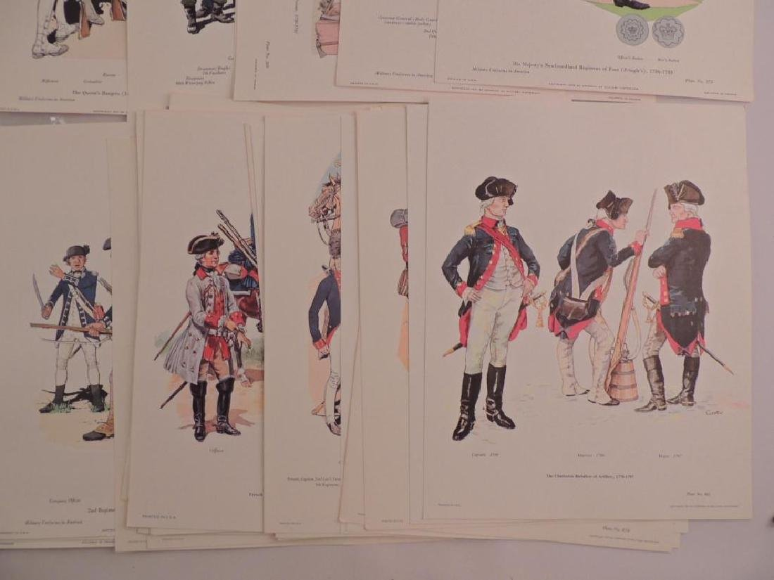 50 Company of Miltary Historian Colored Prints - 2
