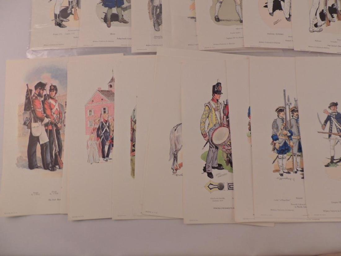 50 Company of Miltary Historian Colored Prints - 3