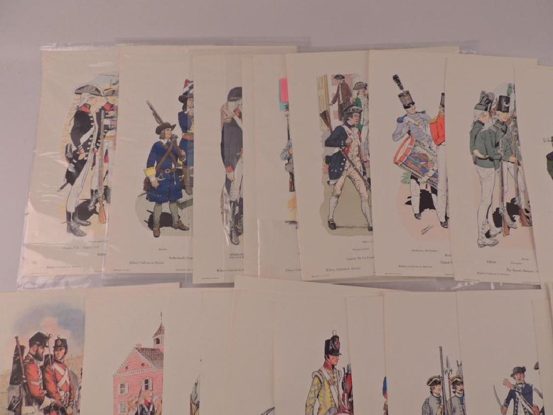 50 Company of Miltary Historian Colored Prints - 4