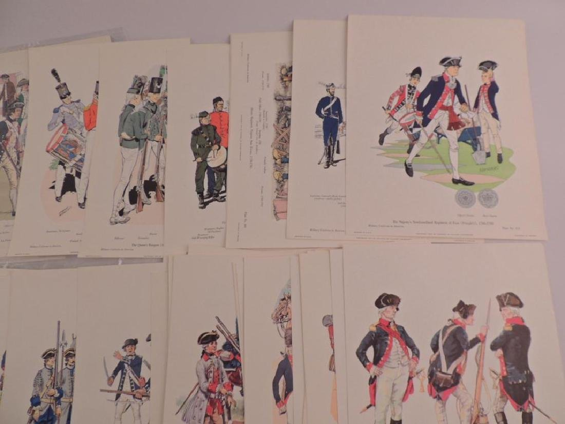 50 Company of Miltary Historian Colored Prints - 5