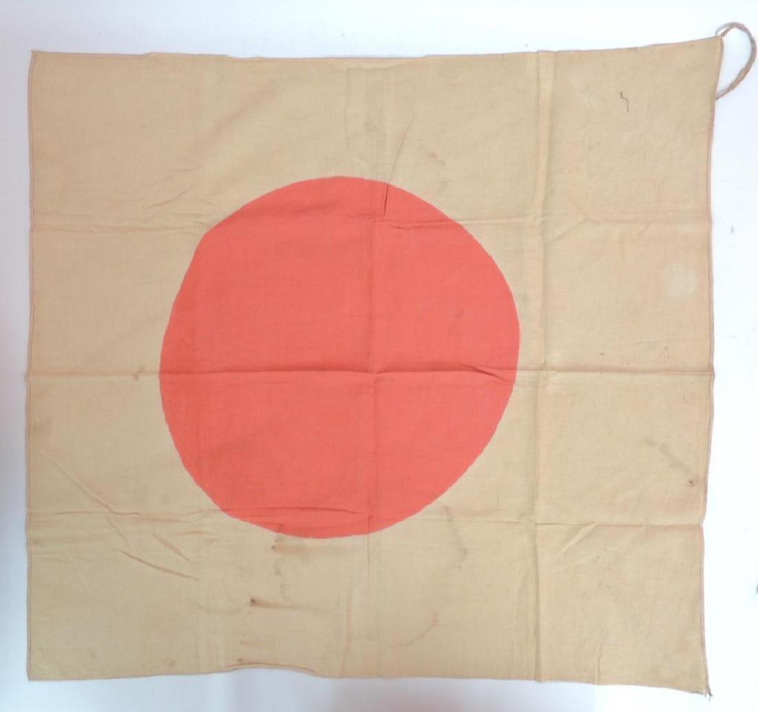 WW2 Japanese Silk Meatball Flag