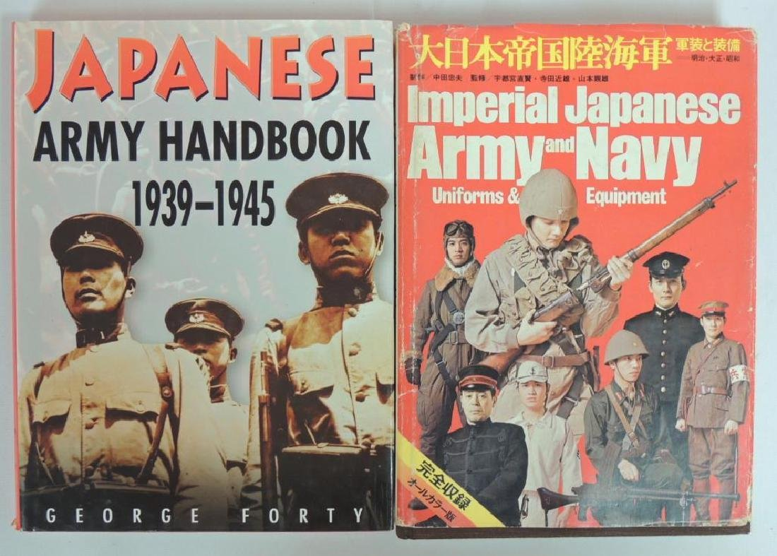 Group of 2 Reference Books on WW2 Japanese Collectables