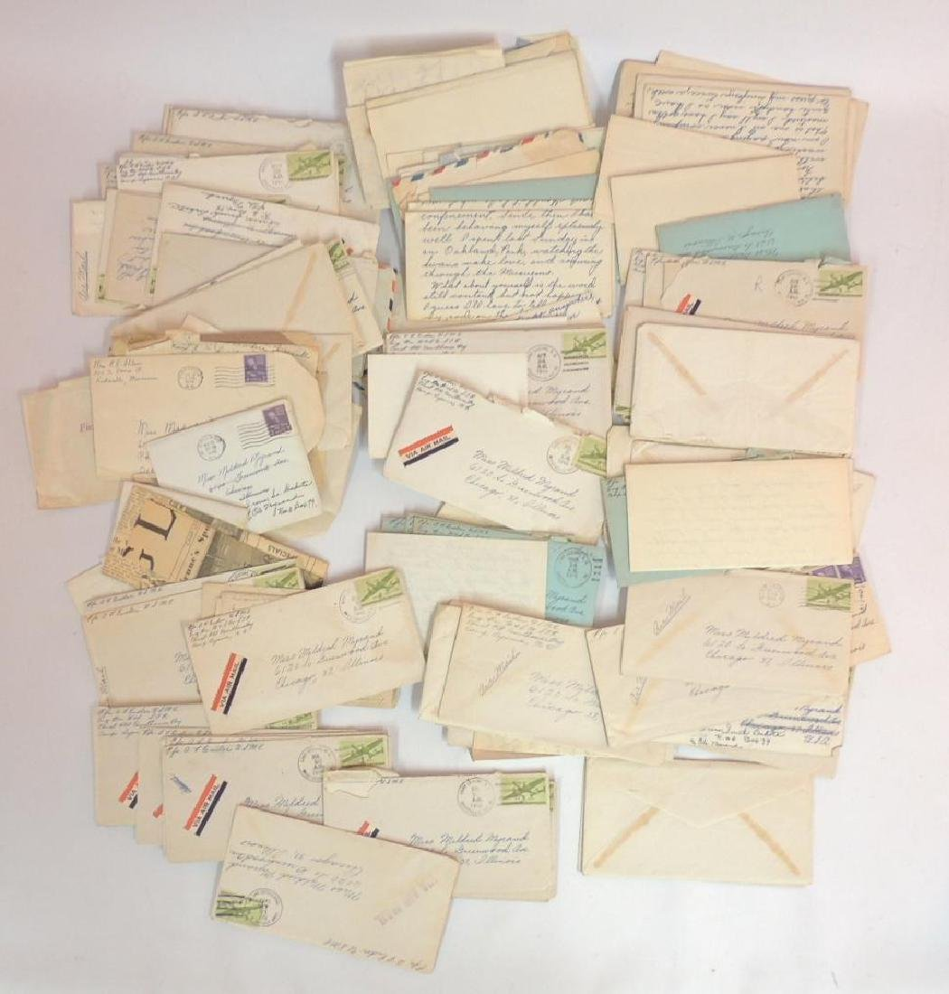 Large Group of WW2 Marine Corps Love Letters