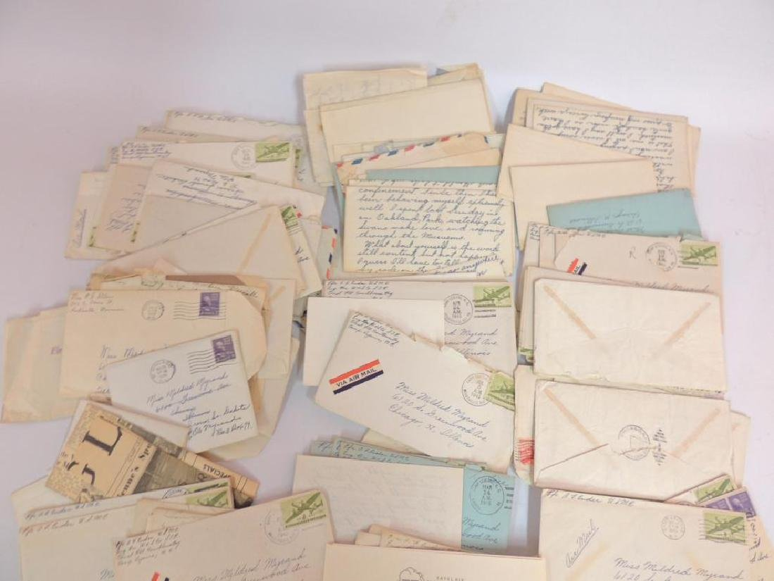 Large Group of WW2 Marine Corps Love Letters - 3