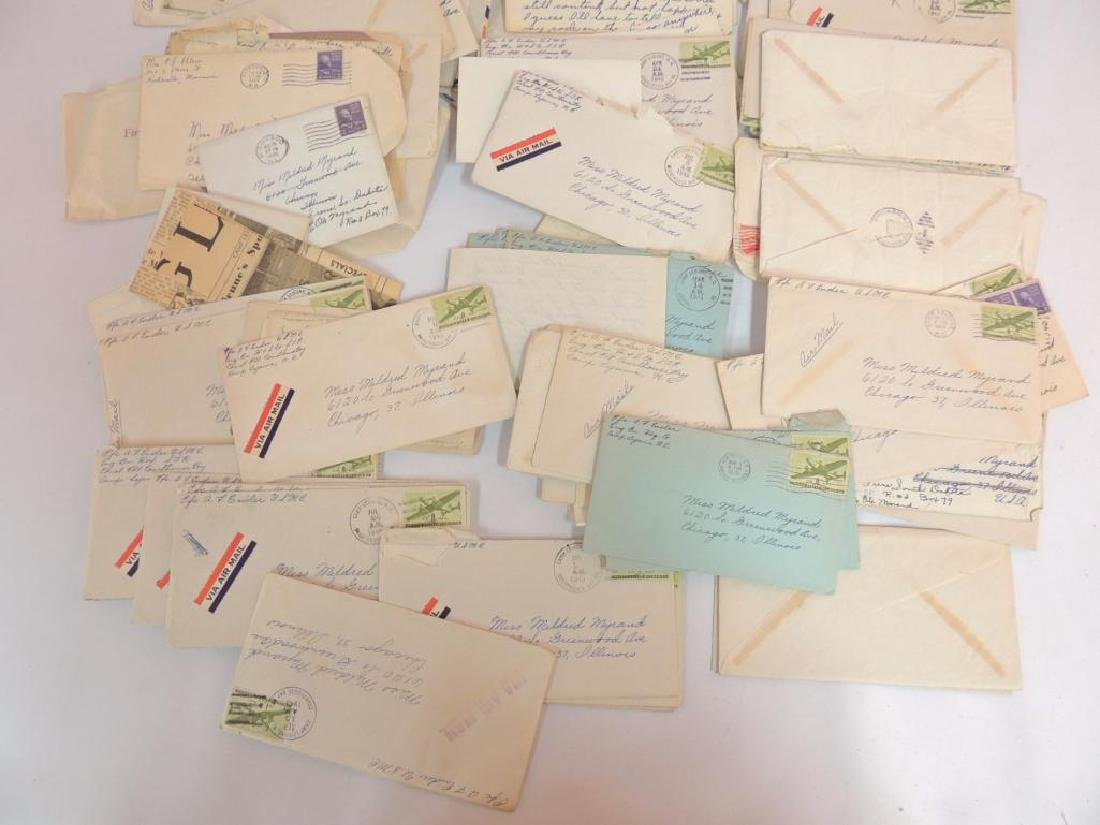 Large Group of WW2 Marine Corps Love Letters - 4