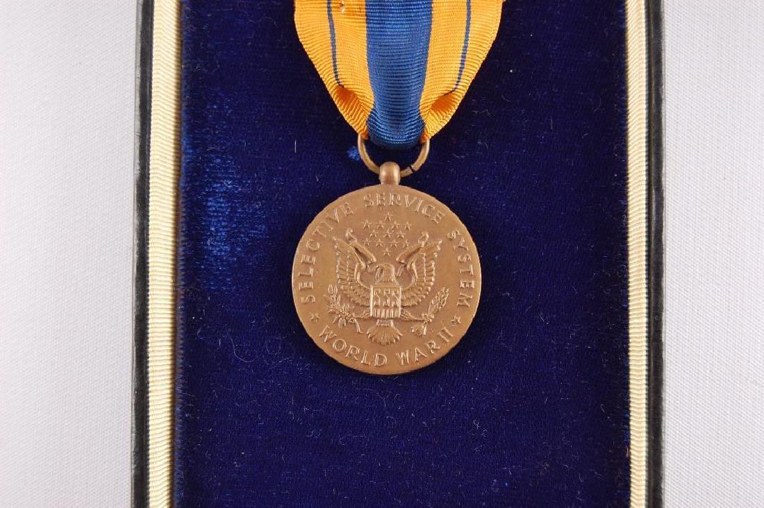 I.D. WW2 Selective Service Medal in Original Shipping - 4