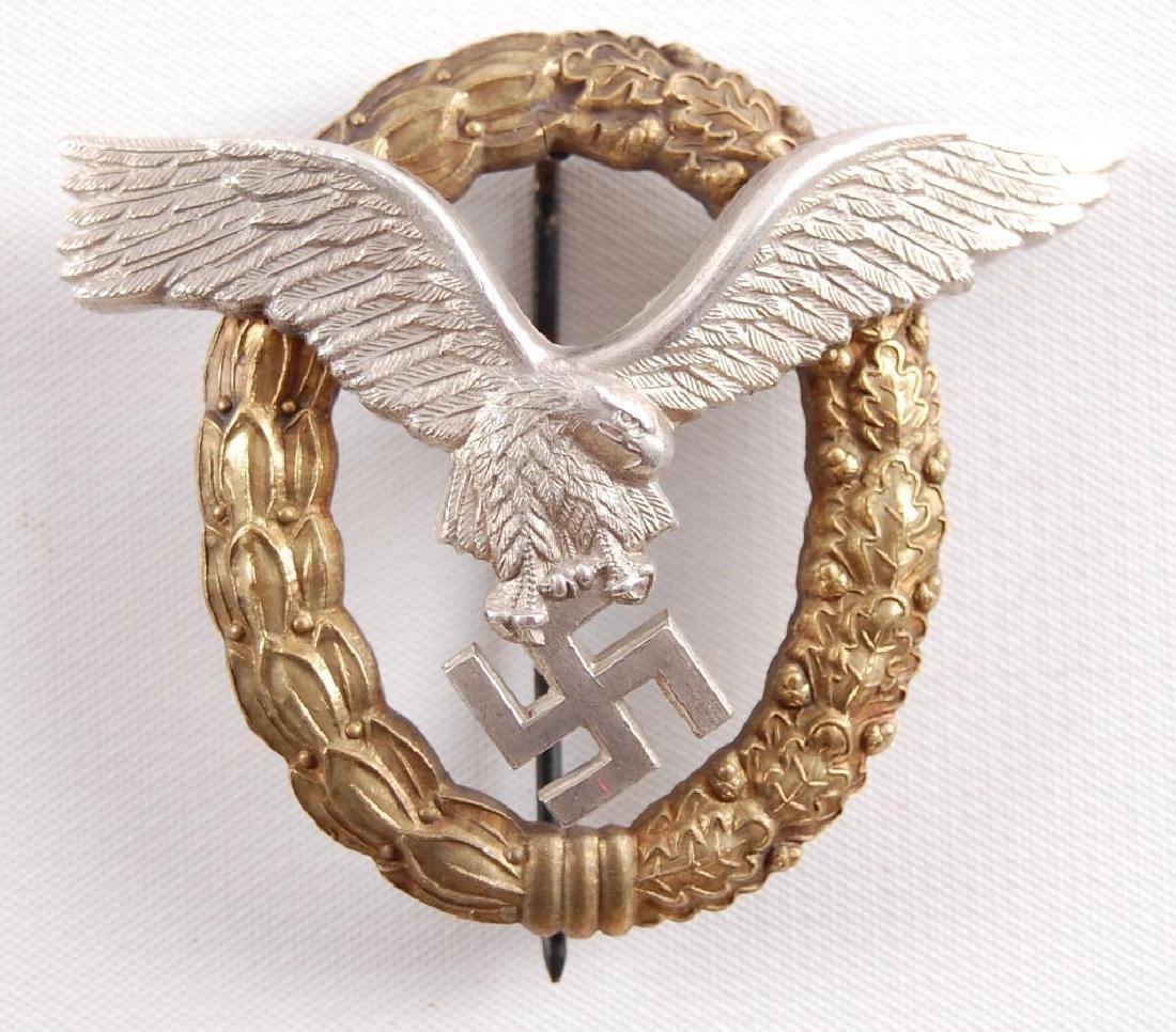 WW2 German Luftwaffe Combined Pilot/Observer Badge