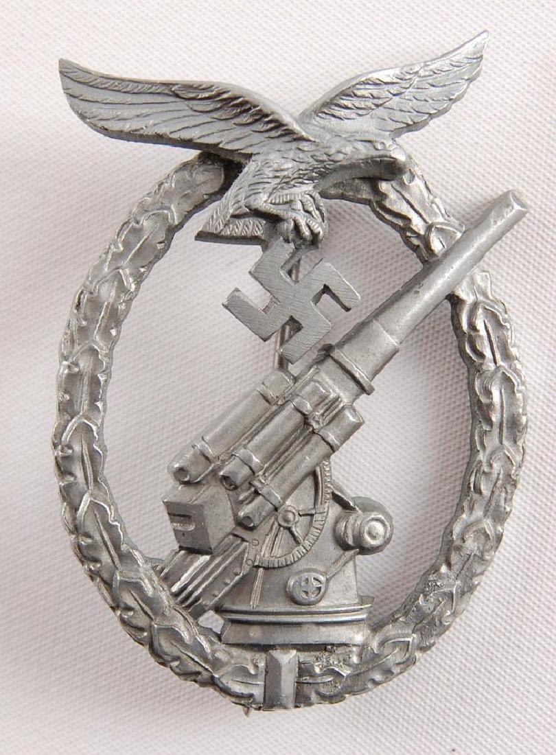 WW2 German Luftwaffe Anti-Aircraft Badge