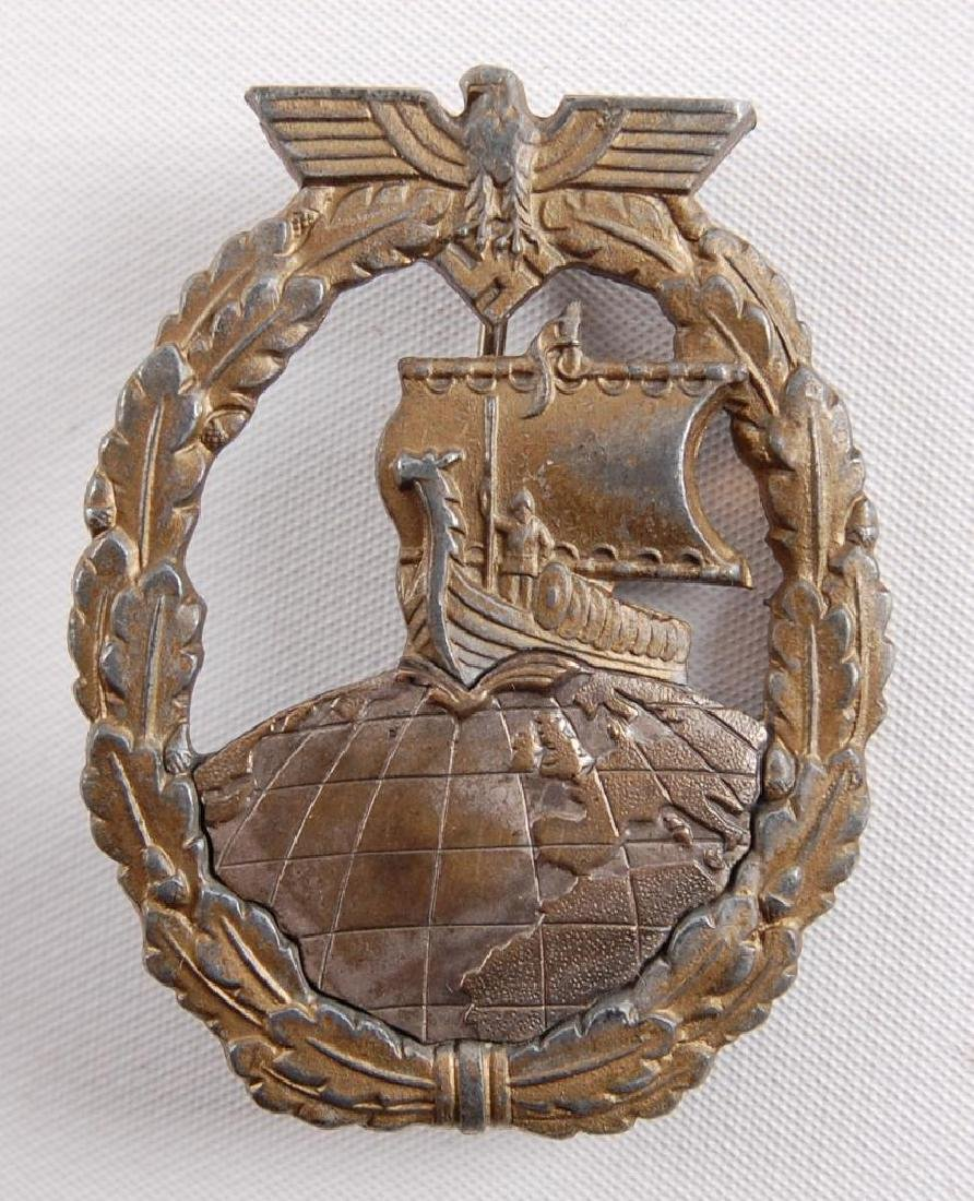 WW2 German Auxiliary Cruiser Badge