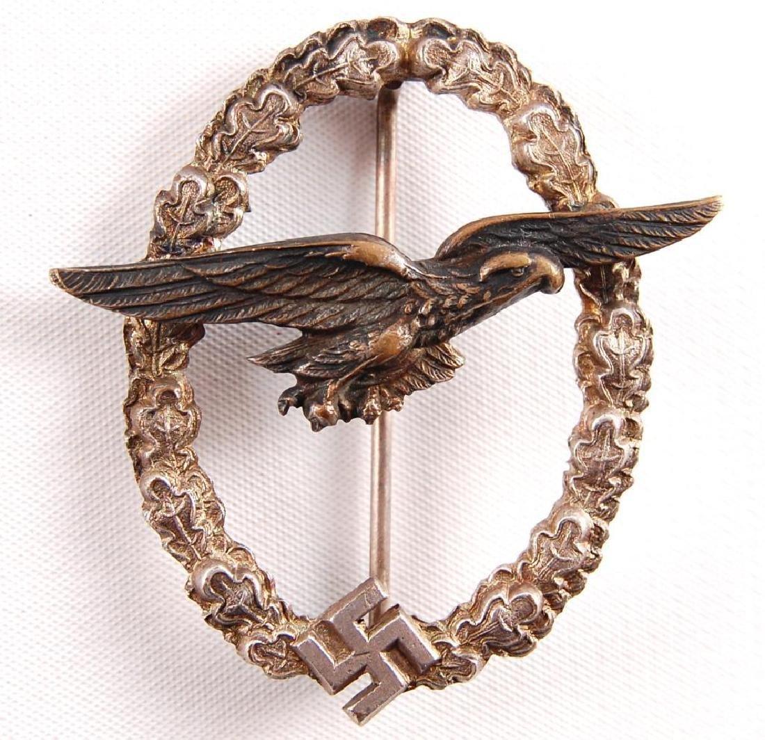 WW2 German Luftwaffe Glider Badge