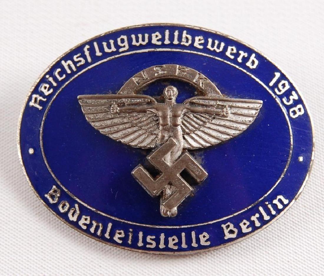 WW2 German N.S.F.K. 1938 Berlin Award Badge