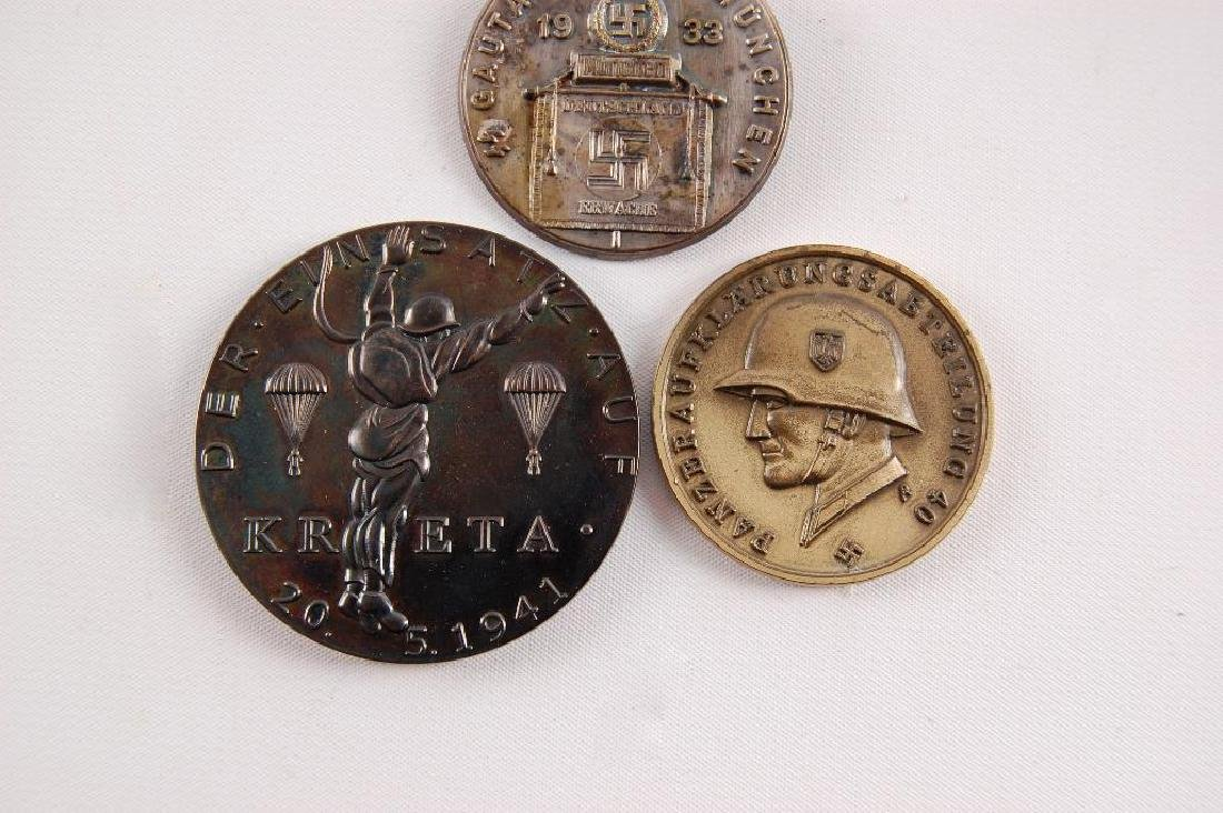 Group of 3 German Table Medals and Tinnie - 2