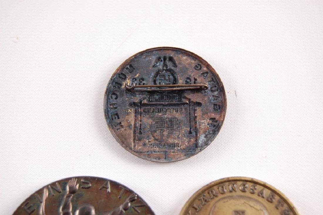 Group of 3 German Table Medals and Tinnie - 4
