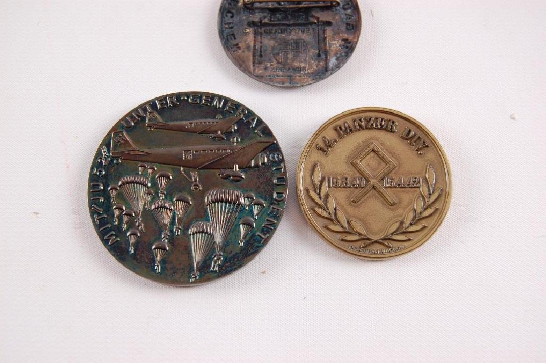 Group of 3 German Table Medals and Tinnie - 5