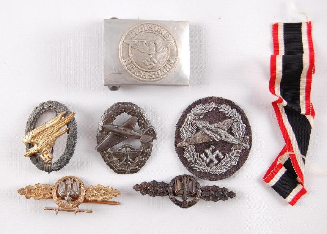 Group of 7 Reproduction German Medals and Badges